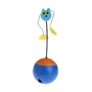 JAGETRADE Jouets pour Animaux de Compagnie Gobelet électrique Distributeur d'aliments pour Boissons Feeder Funny Ball Chien Chat Chiot Bleu de la marque JAGETRADE image 0 produit