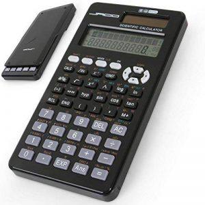Jago - Calculatrice scientifique solaire - 401 fonctions - pour les opérations mathématiques complexes de la marque Jago image 0 produit