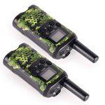JAJA 1 Paire Mini Walkie Talkies PMR446 Scanner Radio Bidirectionnelle Voie 22 Voix Moniteur, Fonction Rétro-Éclairage de la marque JAJA image 4 produit