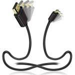 JASDOIT 2m Câble Micro HDMI vers HDMI, soutien Ethernet, 3D, 4K, et Audio Return, Noir,pour GoPro HERO6 Black/ HERO5 Black, Asus T100/ Zenbook UX330UA, Lenovo Yoga, Plaqué Or de la marque FYELC image 1 produit