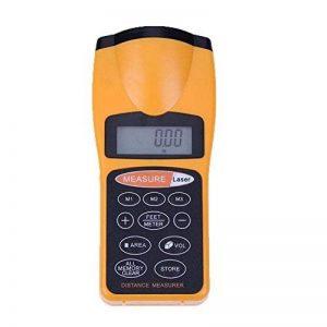 JCYTM Mesureur de Distance ultrasonique avec Le pointeur Laser, Outil de Mesure de Distance d'affichage numérique CP-3007 de la marque JCYTM image 0 produit