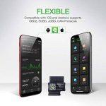 JDiag FasLink M2 OBD2 Lecteur de Code Professionnel Auto Diagnostic Scanner Voiture OBDII Scanner Outil Bluetooth 4.0 iPhone Android Téléphone - Noir de la marque JDiag image 1 produit