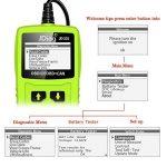 JDiag OBD diagnostic auto Code lecteur OBD2 scanner avec la fonction de test de la batterie de la marque JDiag image 4 produit