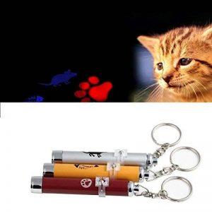 jouet pour chat ou chien pointeur LED rouge motif patte chaton de la marque Atlantis image 0 produit
