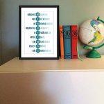Joyeux Noël dans toutes les langues - Typographie Imprimer de la marque The Word Association image 3 produit