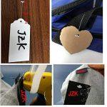 JZK Etiqueteuse Pistolet d'Etiquettes Prix Etiquettes de Marque de Vêtement avec 1000pcs fils Paddle (blanc ,5cm) + 5pcs aiguilles de rechange de la marque JZK image 3 produit