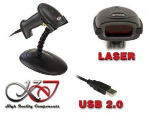 KALEA INFORMATIQUE DOUCHETTE Lecteur DE Codes Barres XL6200A - Laser/Mains Libres/Connexion USB - Vendue avec Son portique, prête à l'emploi. de la marque KALEA INFORMATIQUE image 0 produit