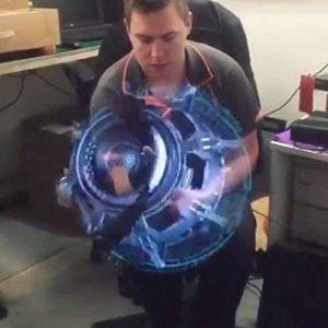 Kangrunmy Fan VidéOprojecteur Portable 3D Mode Personnalité CaractéRistiques Hologramme LED Fan ProjetéE Fan Nu ŒIl 3D Effet Publicité Affichage Partie Signe Home CinéMa de la marque Kangrunmy image 0 produit