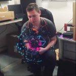 Kangrunmy Fan VidéOprojecteur Portable 3D Mode Personnalité CaractéRistiques Hologramme LED Fan ProjetéE Fan Nu ŒIl 3D Effet Publicité Affichage Partie Signe Home CinéMa de la marque Kangrunmy image 2 produit