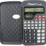 Kenko Scientifique Noir calculatrice de poche pour le travail, université, collège, avec horloge de la marque KENKO image 1 produit