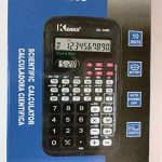 Kenko Scientifique Noir calculatrice de poche pour le travail, université, collège, avec horloge de la marque KENKO image 3 produit