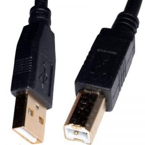Keple | 3m câble USB 2.0A vers B Câble pour connecter HP Office Jet/Officejet imprimante ou scanner vers PC/Mac/ordinateur portable/ordinateur de la marque Keple image 0 produit