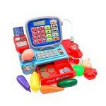 Kids Electric Calculatrice de caisse enregistreuse Jouets prétendant apprendre à jouer à la caisse de la marque Lovelysunshiny image 4 produit