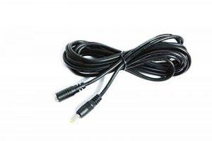 Kingfisher Technologie Long 3m extension lead 2A femelle vers mâle DC PLUG Power Chargeur Câble Noir (18awg) 4exposition Joystick Mk11Étiqueteuse lumière de vélo de la marque What Accessory image 0 produit