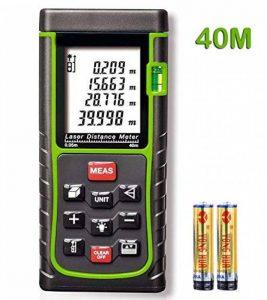KINGTOP Télémètre Laser avec Affichage Professionnel Laser de Mesure de Distance avec Certification CE ROHS FCC Plage de Mesure 0,05 ~ 40m de la marque KINGTOP image 0 produit