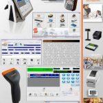 Kit caisse enregistreuse, lecteur de codes-barres, logiciel MagaWorld, pour magasin, inventaire, écran tactile de la marque BARCODE DIRECT image 4 produit
