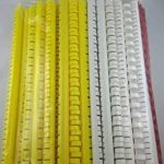 Kit de démarrage plastique Binder dos gemischtes Assortiment en plusieurs couleurs env. 50–70pièces Diamètre 4,5–19mm de la marque Top Lamination image 2 produit