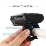 Kit rechargeable imperméable à l'eau de vélo de LED d'USB, feu arrière de LED LIBRE INCLUS - s'adapte à TOUS les vélos, installation facile de la marque DLM image 1 produit