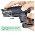Kit rechargeable imperméable à l'eau de vélo de LED d'USB, feu arrière de LED LIBRE INCLUS - s'adapte à TOUS les vélos, installation facile de la marque DLM image 2 produit