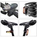 Kit rechargeable imperméable à l'eau de vélo de LED d'USB, feu arrière de LED LIBRE INCLUS - s'adapte à TOUS les vélos, installation facile de la marque DLM image 3 produit