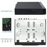KKmoon 8CH Complet 1080N/720p AHD DVR HVR NVR HDMI P2P Nuage Réseau Onvif Digital Video Recorder + 1 TB HDD Plug-and-Play Android/iOS APP Libre CMS Navigateur Vue Motion Detection Email Alarme de la marque KKmoon image 2 produit