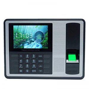 KKmoon DC 5V Self-Service sans Logiciel Machine Intelligente Biométrique du Pointage du Personnel, 4 Pouces TFT LCD Ecran de la marque KKmoon image 0 produit