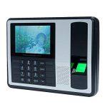 KKmoon DC 5V Self-Service sans Logiciel Machine Intelligente Biométrique du Pointage du Personnel, 4 Pouces TFT LCD Ecran de la marque KKmoon image 1 produit
