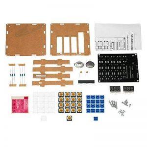 KKmoon DIY MCU Calculateur Kit Digital Tube Calculatrice avec le Boîtier Transparent de la marque KKmoon image 0 produit