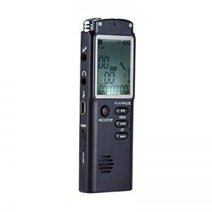 KKmoon SK-301 8GB 1536Kbps Enregistreur en Commande Vocal Numérique(VAR) & Lecteur MP3, Enregistrement de Téléphone & AB Répétition de la marque KKmoon image 0 produit