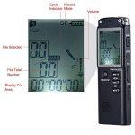 KKmoon SK-301 8GB 1536Kbps Enregistreur en Commande Vocal Numérique(VAR) & Lecteur MP3, Enregistrement de Téléphone & AB Répétition de la marque KKmoon image 3 produit
