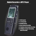 KKmoon SK-301 8GB 1536Kbps Enregistreur en Commande Vocal Numérique(VAR) & Lecteur MP3, Enregistrement de Téléphone & AB Répétition de la marque KKmoon image 4 produit