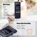 KKmoon SK-992 8GB 1536Kbps Enregistreur Vocal Numérique & Lecteur MP3, Déduction de Bruit & Enregistrement Automatique & AB Répétition & Réveil & Ecran Coloré de la marque KKmoon image 1 produit