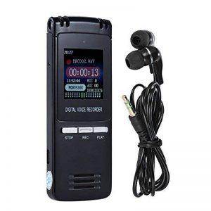 KKmoon SK-992 8GB 1536Kbps Enregistreur Vocal Numérique & Lecteur MP3, Déduction de Bruit & Enregistrement Automatique & AB Répétition & Réveil & Ecran Coloré de la marque KKmoon image 0 produit