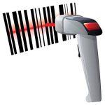 Knonew 1d Filaire USB Barcode Scanner avec Support Mains Libres Lecteur de Code Barre de Poche Automatique Analyse du Code à Barres Laser Sacanning Pistolet pour Vente au Détail, Supermaket de la marque KNONEW image 1 produit