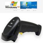 Knonew 1d Filaire USB Barcode Scanner avec Support Mains Libres Lecteur de Code Barre de Poche Automatique Analyse du Code à Barres Laser Sacanning Pistolet pour Vente au Détail, Supermaket de la marque KNONEW image 2 produit