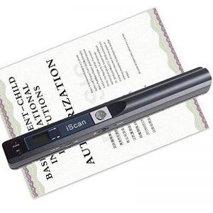 KOBWA Scanner de Documents Portables, A4 Scanner et D'images Mobiles Portables, Résolution 900DPI, pour les Entreprises, Photos, Images, Reçus, Livres de la marque Kobwa image 0 produit