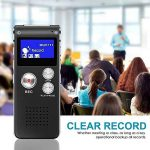 Kobwa Voice Recorder Multi Function Portable professionnel One toucher d'enregistrement USB rechargeable 8Go HD Digital Audio Voice Recorder dictaphone MP3Player pour interview Amphithéâtres Réunion salle de classe d'enregistrement de la marque Kobwa image 4 produit