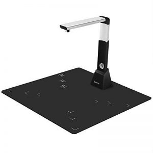 Koolertron Scanner de documents Professional avec OCR, Scanner portable pliable Lecteur de document USB Hauteur Réglable avec voyants à LED, balayage rapide de 8 méga pixels (Noir) de la marque Koolertron image 0 produit