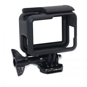 Kupton Cadre Coque pour GoPro Hero(2018) 6/5 Case Boîtier de Protection de Bordure pour Go Pro Hero(2018) 6/5 Noir avec Prise Mobile Rapide et Vis (Noir) de la marque Kupton image 0 produit