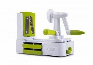 Kuuk Coupe-Légumes Spirale Deuxième Génération Plastique - Coloris aléatoire - 24 x 12 x 19 cm de la marque Kuuk image 0 produit