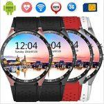 KW88 Smart Watch 1.39 Pouces MTK6580 Quad Core 1.3 Ghz Android 5.1 3G Smartwatchs 400 Mah 2.0 Méga Pixel Moniteur De Fréquence Cardiaque de la marque CCYOO image 2 produit
