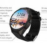 KW88 Smart Watch 1.39 Pouces MTK6580 Quad Core 1.3 Ghz Android 5.1 3G Smartwatchs 400 Mah 2.0 Méga Pixel Moniteur De Fréquence Cardiaque de la marque CCYOO image 4 produit
