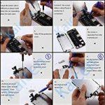 KXC ST Écran LCD Écran Tactile Et numérique Remplacement Pour montage Complet Avec Kit d'outils De Réparation (4.7 Pouces) et La Protection d'écran Pour iPhone 6 (blanc) de la marque KXC ST image 4 produit