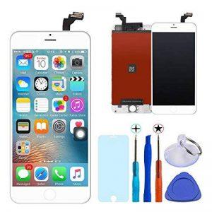 KXC ST Écran LCD Écran Tactile Et numérique Remplacement Pour montage Complet Avec Kit d'outils De Réparation (4.7 Pouces) et La Protection d'écran Pour iPhone 6 (blanc) de la marque KXC ST image 0 produit