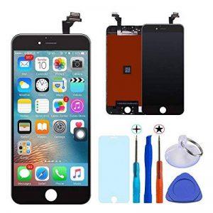 KXC ST Écran LCD Écran Tactile Et numérique Remplacement Pour montage Complet Avec Kit d'outils De Réparation (4.7 Pouces) et La Protection d'écran Pour iPhone 6 (Noir) de la marque KXC ST image 0 produit