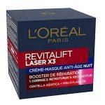 L'Oréal Paris Revitalift Laser X3 Soin Crème de Nuit Anti-Âge Acide Hyaluronique de la marque L'Oréal Paris image 1 produit