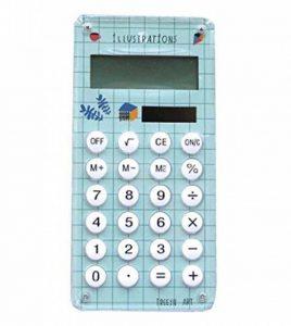La carte créatrice solaire de mini calculatrice créatrice chiffre l'affichage de chiffre de crédit mince, vert de la marque Black Temptation image 0 produit
