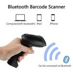 Laser Barcode Scanner Bluetooth 4.0 Sans Fil Scanner USB Lecteur de Codes Barres de Poche pour Windows iOS iPad Air / Mini iPhone Téléphones Android Tablets Pos Caisse enregistreuse de la marque Kamtop image 2 produit