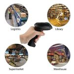Laser Barcode Scanner Bluetooth 4.0 Sans Fil Scanner USB Lecteur de Codes Barres de Poche pour Windows iOS iPad Air / Mini iPhone Téléphones Android Tablets Pos Caisse enregistreuse de la marque Kamtop image 1 produit