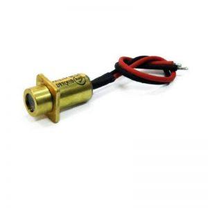 Laser linéaire, rouge, 635nm, 4°, 5mW, 3V DC, Ø9x20mm, Classe laser 2, Foyer fixé (2000mm), Longueur de câble 90mm - 70116250 de la marque Laserfuchs image 0 produit